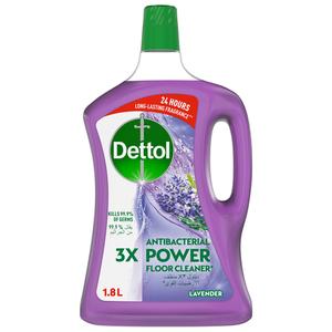 Dettol Lavender Antibacterial Power Floor Cleaner 1.8L