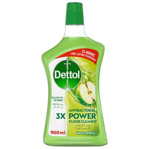 Dettol Green Apple Antibacterial Power Floor Cleaner 900ml