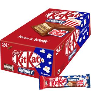 KitKat Chunky Popcorn Chocolate 24x40.5g