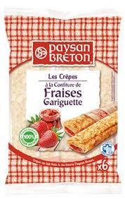 Paysan Breton Strawberry Pancake 180g