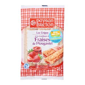 Paysan Breton Strawberry Pancake 370g