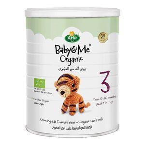 Arla Baby & Me Organic Cow's Milk Formula Stage 3  (12-36 Months) 800g