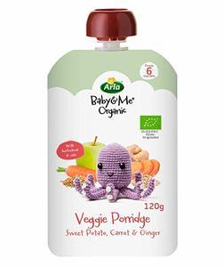 Arla Baby & Me Organic Vegetable Porridge Sweet Potato 120g