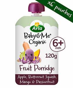 Arla Baby & Me Organic Fruit Porridge Apple 120g
