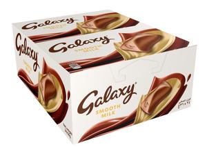 Galaxy Milk Chocolate Bar Multipack 24x36g
