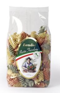 Durum Wheat Semolina Fussili Tricolore 500g