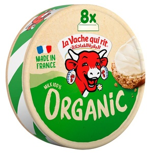 La Vache Qui Rit Organic Spreadable Cheese Triangles 128g