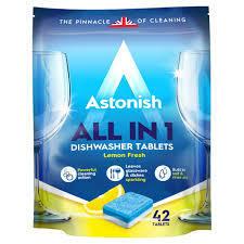 Astonish DishWash Tab Lemon 42s