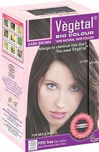 Vegetal Bio Colour Dark Brown 100g