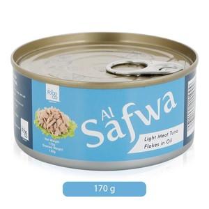Al Safwa Tuna Flakes Light Meat In Sunflower Oil 4x170g