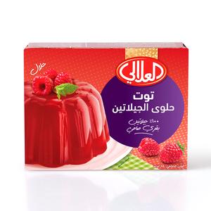 Al Alali Raspberry Gelatin 85g