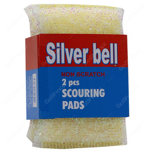 Silver Bell Scouring Pad 1pc