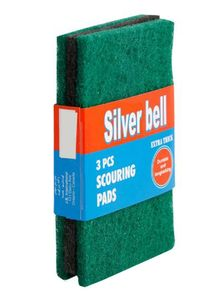 Silver Bell Scouring Pad 3pcs