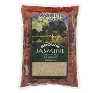 World Spices Jasmine Brown Rice 2kg