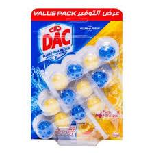 Dac Toilet Cleaner Powder Active Lemon 3x50g
