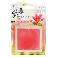 Glade Glass Scents Refill Floral 8g