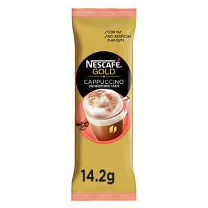 Nescafe Gold Cappuccino Unsweetened Taste Coffee Mix 14.2g