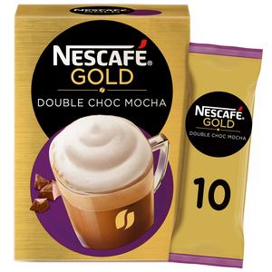 NESCAFÉ Gold Double Chocolate Mocha Coffee Mix 10x23g
