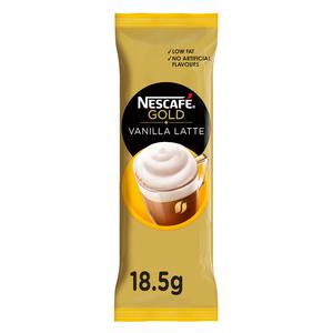 Nescafe Gold Cappuccino Vanilla Latte Coffee Mix 18.5g