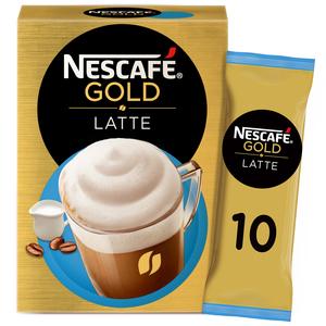 Nescafe Gold Latte Coffee Mix 10x19.5g
