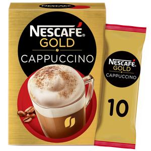 Nescafe Gold Cappuccino Coffee Mix 10x17g