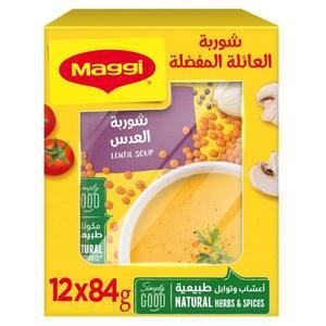 Maggi Lentil Soup 12x84g