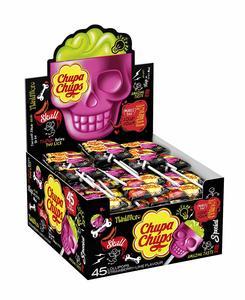 Chupa Chups 3D Skull Lollipops 15g