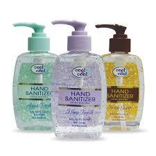 Cool & Cool Hand Sanitizer Gel Assorted 500ml