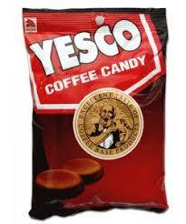 Yesco Coffee Candy Jar 600g