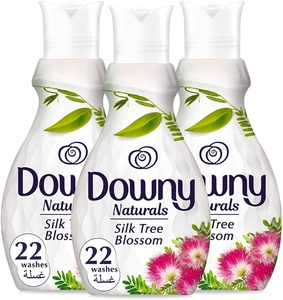 Downy Silk Tree Blossom Fabric Softener 3x880ml