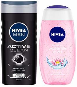 Nivea Active Clean Men Shower Gel 250ml