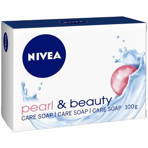 Nivea Pearl & Beauty Cleansing Soap 4x100g