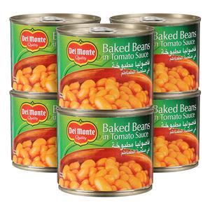 Delmonte Baked Beans 6x220gr