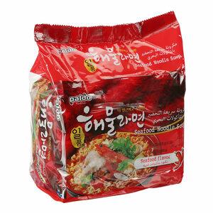 Paldo Seafood Ramen Noodle 5x120g