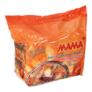 Mama Shrimp Creamy Flavour Tom Yum 5x55g