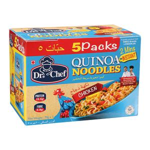 Dr Chef Quinoa Noodles Chicken Flavor 5sx70g