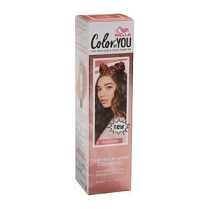 Wella Hair Makeup Rose Gold 1s