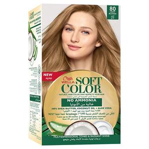 Wella Soft Color Kit 80 Light Blonde 1s