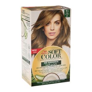 Wella Soft Color Kit 71 Ash Blonde 1s