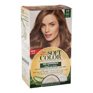 Wella Soft Color Kit 77 Golden Brown 1s