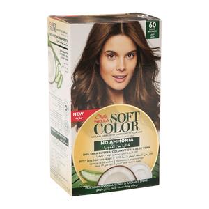 Wella Soft Color Kit 60 Dark Blonde 1s