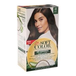 Wella Soft Color Kit 40 Medium Brown 1s