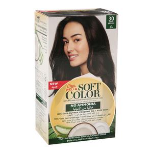 Wella Soft Color Kit 30 Dark Brown 1s