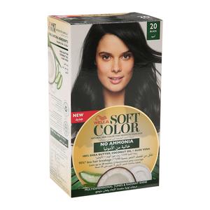 Wella Soft Color Kit 20 Black 1s