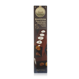 Venchi Dark Chocolate Gianduja With Hazelnuts 80g