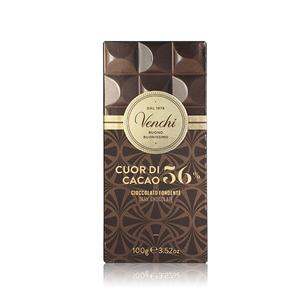 Venchi Cuor Di Cacao 56% Chocolate 100g