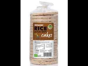 Organic Larder Corn And Buckwheat Cakes 120g