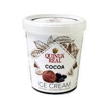 Quinua Real Cocoa Ice Cream 500ml