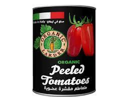 Organic Larder Peeled Tomatoes 400g