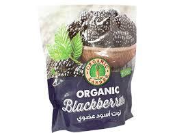 Organic Larder Frozen Blackberries 300g